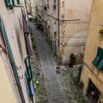 Via San Rocco dal soggiorno